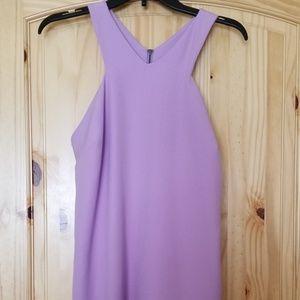 Lavendar A-Cut Dress